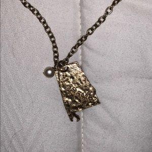 Jewelry - Alabama state necklace